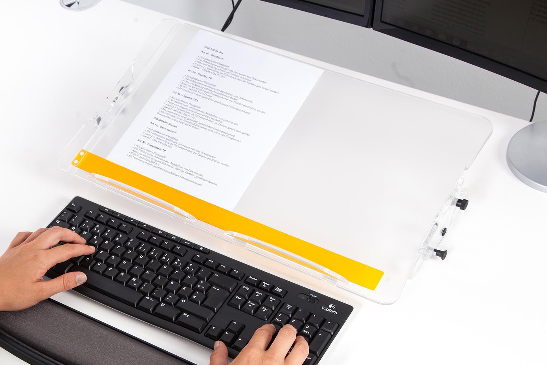 ORGADESK Dokumentenhalter